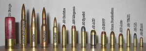 Comparison of various calibers